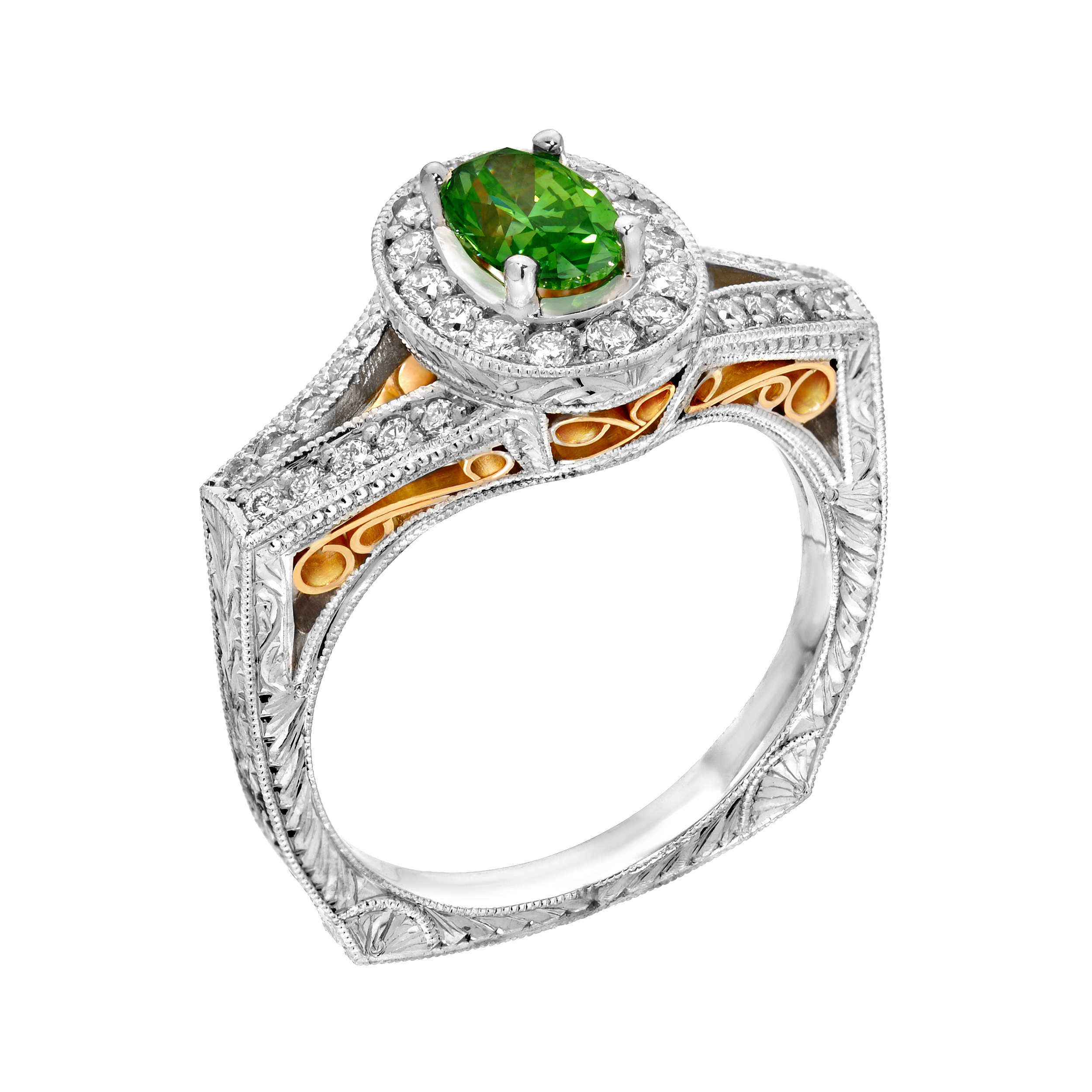 colored fancy diamonds pinkish diamond green ring jewelry and yellowish image purple estate yellow