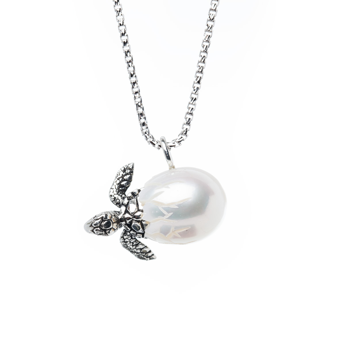 Turtle egg pendant from the galatea hawaii collection shopinde mozeypictures Gallery